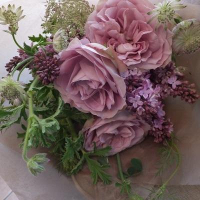 オークリーフ(母の日の花束)_f0049672_21082626.jpg