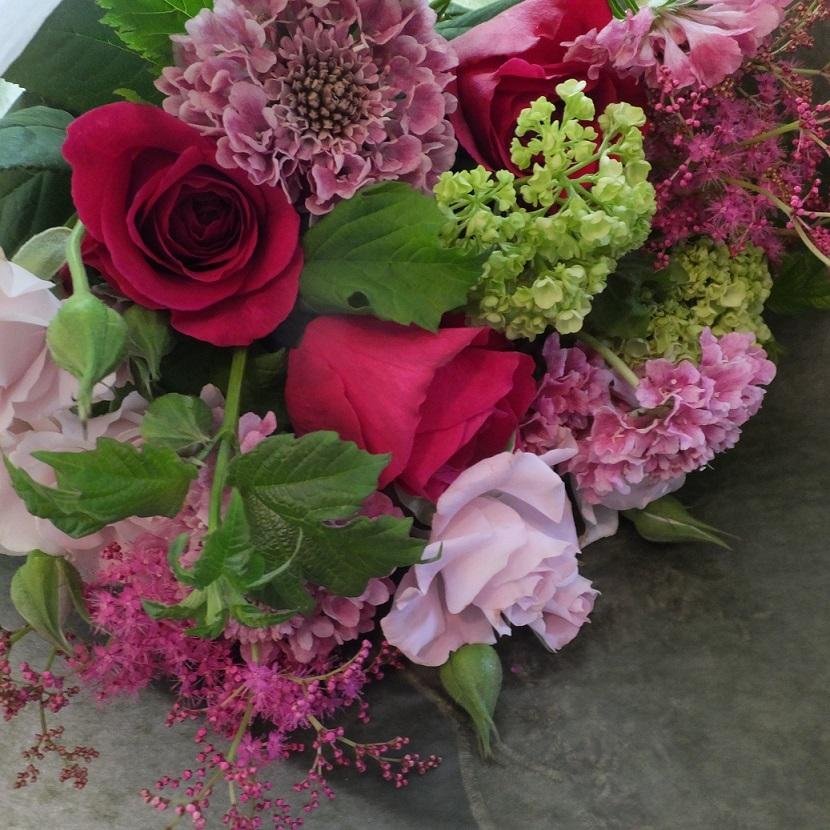 オークリーフ(母の日の花束)_f0049672_21084316.jpg