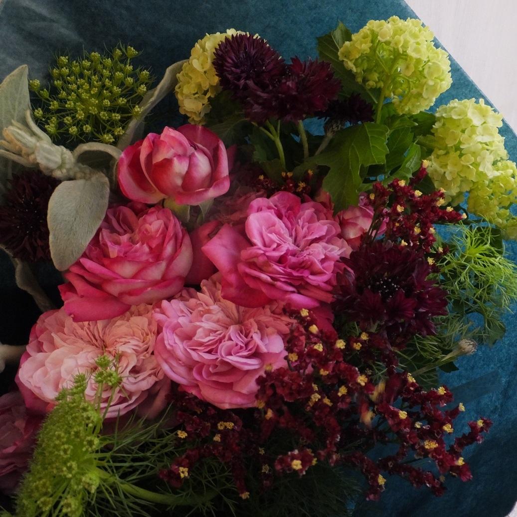 オークリーフ(母の日の花束)_f0049672_21084759.jpg