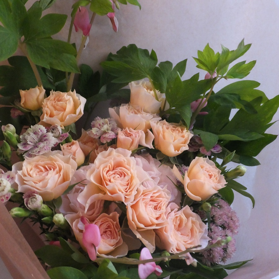 オークリーフ(母の日の花束)_f0049672_21085936.jpg