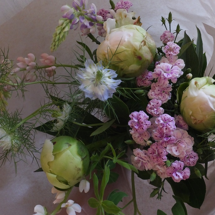 オークリーフ(母の日の花束)_f0049672_21105101.jpg