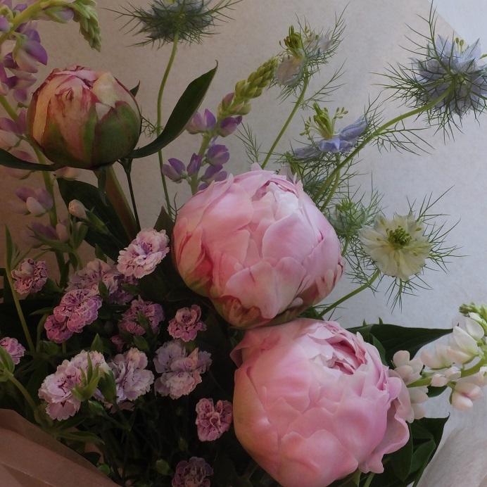 オークリーフ(母の日の花束)_f0049672_21105735.jpg