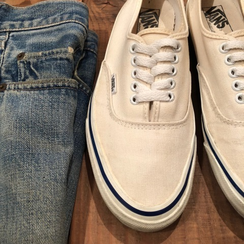 "Early 1990s "" VANS - Made in U.S.A - \"" - AUTHENTIC - CANVAS - Good conditions - ._d0172088_18542814.jpg"