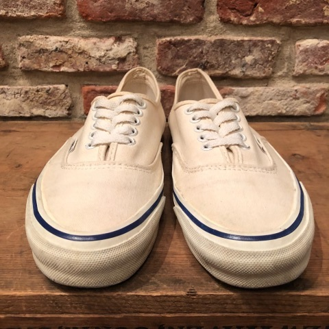 "Early 1990s "" VANS - Made in U.S.A - \"" - AUTHENTIC - CANVAS - Good conditions - ._d0172088_19113946.jpg"