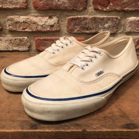 "Early 1990s "" VANS - Made in U.S.A - \"" - AUTHENTIC - CANVAS - Good conditions - ._d0172088_19120812.jpg"