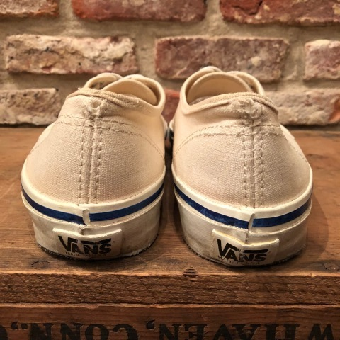"Early 1990s "" VANS - Made in U.S.A - \"" - AUTHENTIC - CANVAS - Good conditions - ._d0172088_19123313.jpg"