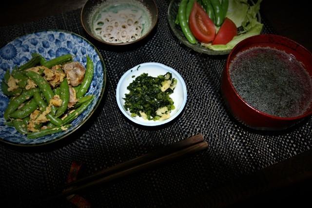 今夜の夕飯5日分とルバーブパイ_f0229190_14390114.jpg