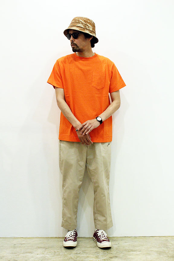"Necessary or Unnecessary "" HAZARD POCKET TEE S/S \""_b0122806_12375763.jpg"