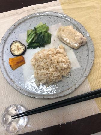 小松菜のソテー_d0235108_07063251.jpg