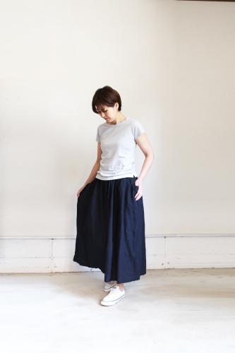 an906 サイドギャザーポケットスカート_e0246710_14124714.jpg