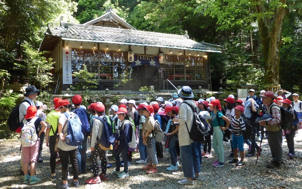 2019年05月23日(臨時 活動報告) 桜が丘小学校「里山体験学習」_d0024426_22311858.jpg