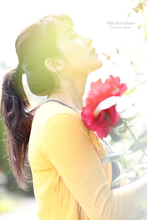 小野真以子 【名古屋港 ワイルドフラワーガーデン ブルーボネット】_f0253927_19062793.jpg