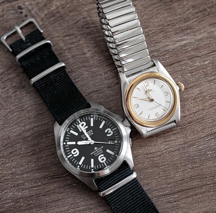 2019/05/25 2つの腕時計_b0171364_10071160.jpg