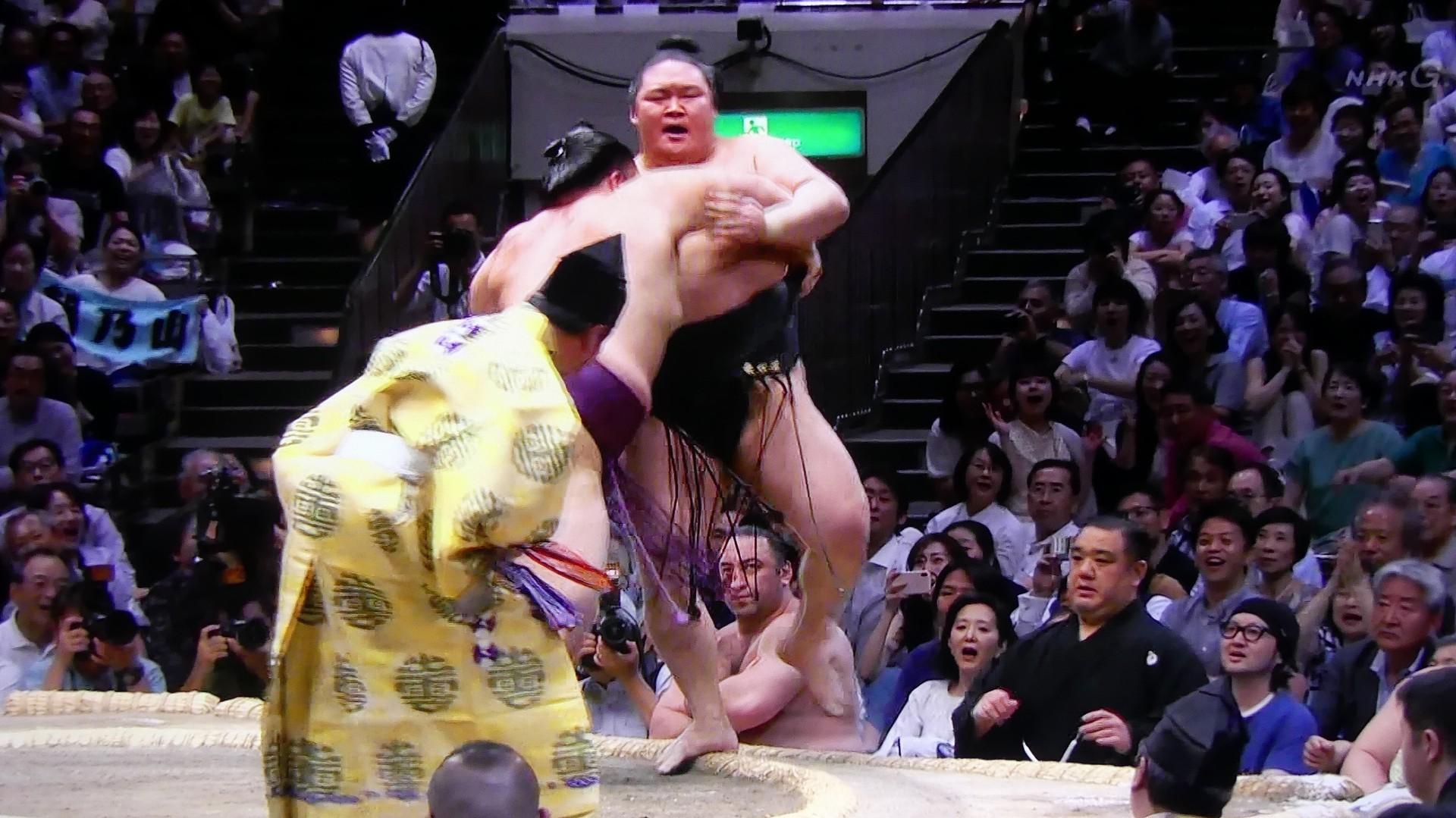 令和最初の大相撲は 朝乃山 が優勝!_a0185081_19523256.jpg