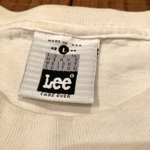 "1992 "" Lee \"" 100% cotton H.W VINTAGE - PUBLIC FIGURE - PRINT Tee SHIRTS ._d0172088_22132385.jpg"