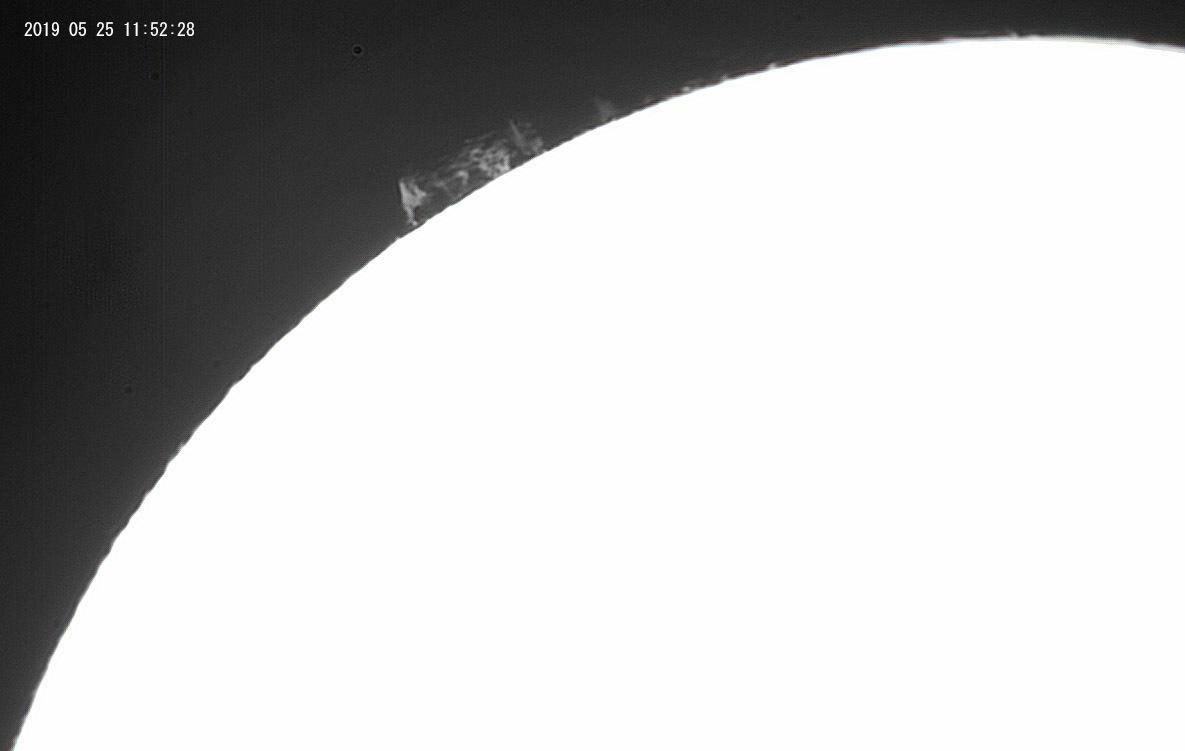 5月25日の太陽_e0174091_16232513.jpg