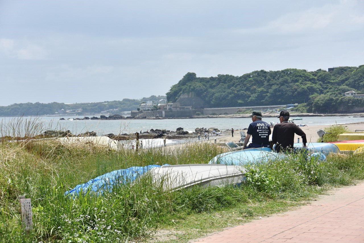 南風吹いて 三浦の浜辺_d0065116_19294082.jpg
