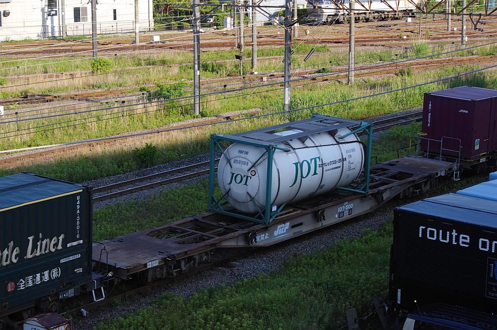 5/25東京貨物ターミナルにてSGS60レのコキとコンテナ_f0203926_23535661.jpg