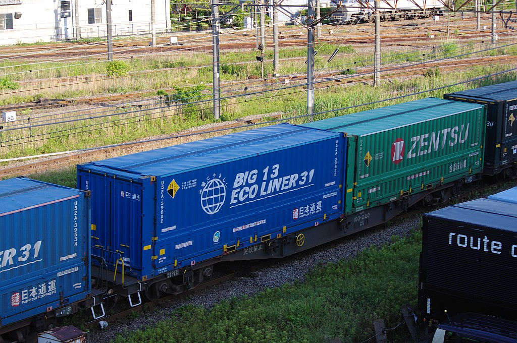 5/25東京貨物ターミナルにてSGS60レのコキとコンテナ_f0203926_23543237.jpg