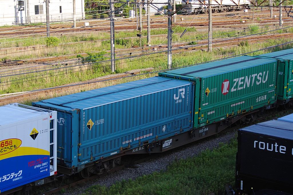 5/25東京貨物ターミナルにてSGS60レのコキとコンテナ_f0203926_23545471.jpg