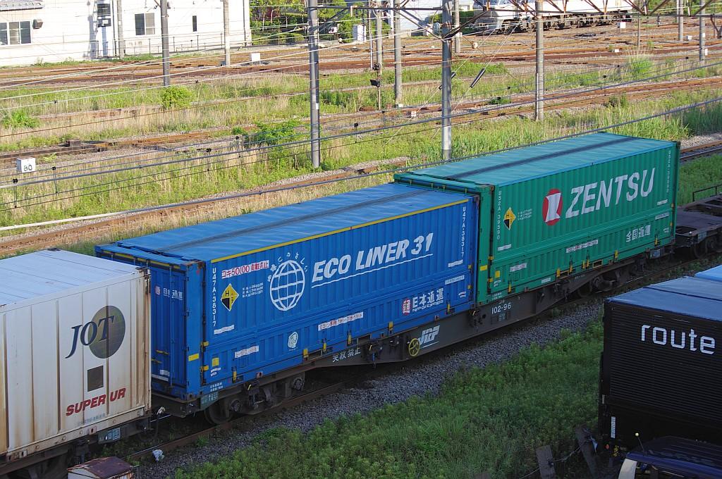 5/25東京貨物ターミナルにてSGS60レのコキとコンテナ_f0203926_23554419.jpg