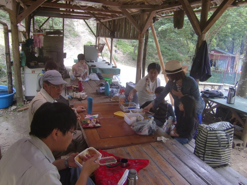 里山ボランティア活動体験会・・・孝子の森_c0239329_21235044.jpg