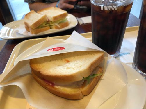ドトール@横浜中華街で朝食♪_f0207146_16541709.jpg