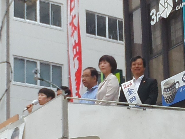 🌞 配達 ✋ ポスターのお願い 🌝 日本共産党街頭演説会in神戸元町 🌞_f0061067_23115390.jpg