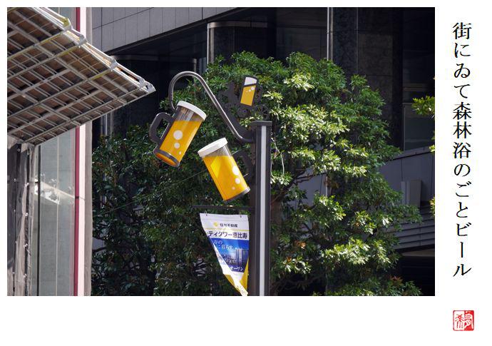 街にゐて森林浴のごとビール_a0248481_23345646.jpg