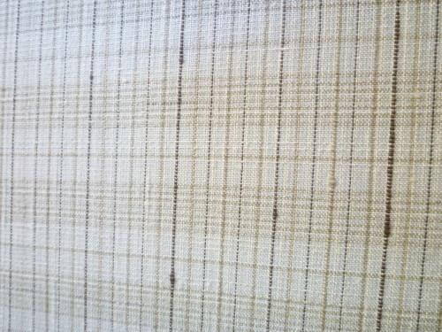 夏久米島着尺 「格子」 <廣田紬謹製>_d0159384_18074749.jpg