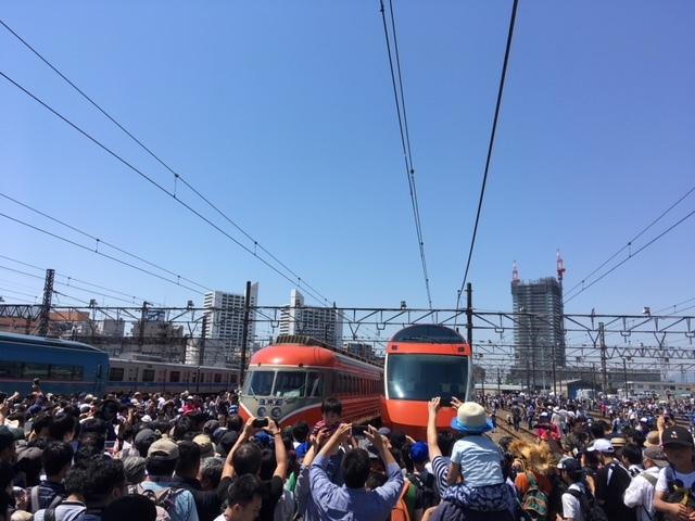 5月26日(日):小田急ファミリーイベントへ_b0231588_08353129.jpg