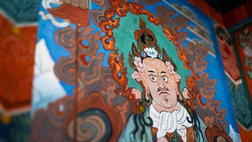 ネパールのチベット仏教寺院にて_d0353489_16380404.jpg