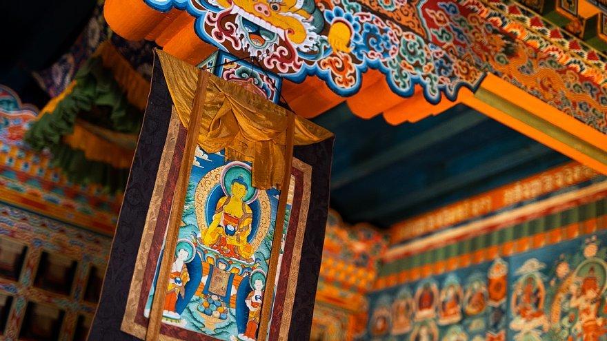 ネパールのチベット仏教寺院にて_d0353489_16382725.jpg