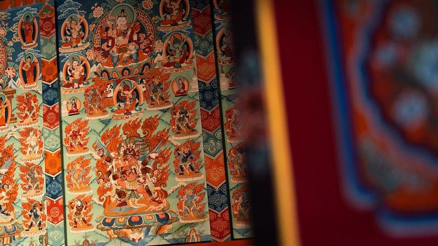 ネパールのチベット仏教寺院にて_d0353489_16400212.jpg