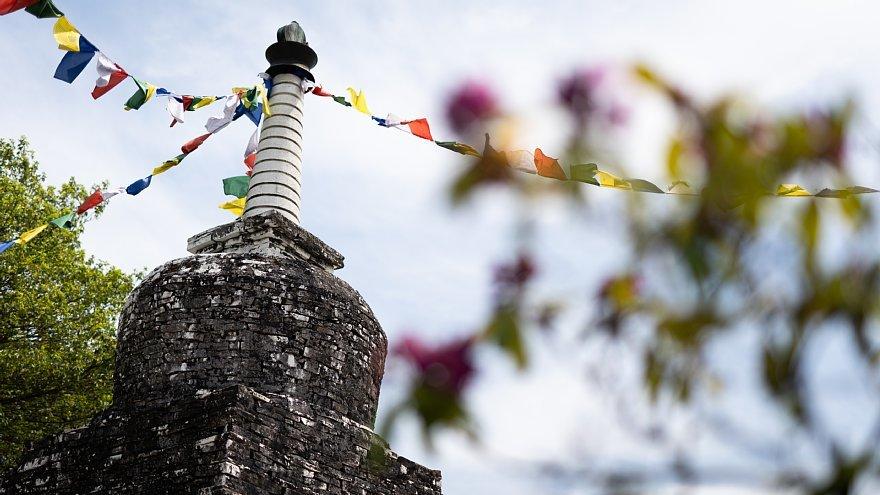 ネパールのチベット仏教寺院にて_d0353489_16401866.jpg