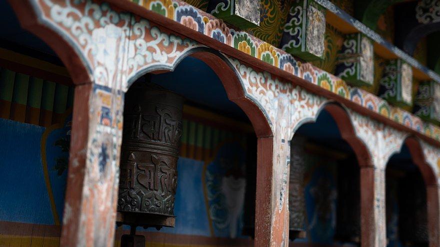 ネパールのチベット仏教寺院にて_d0353489_16403992.jpg