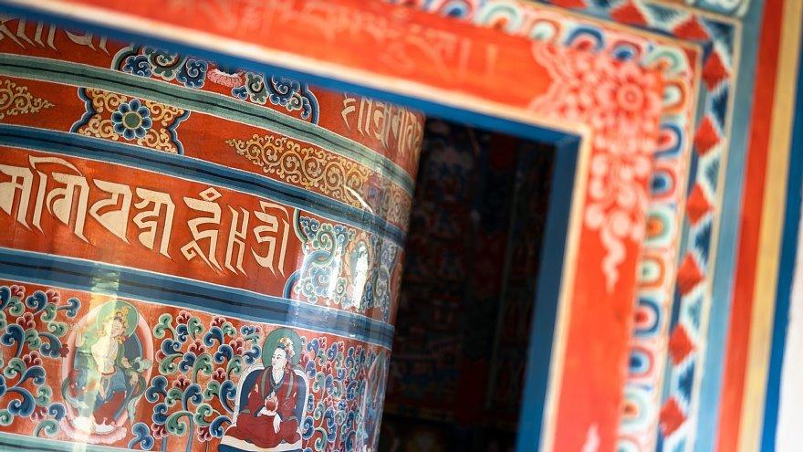 ネパールのチベット仏教寺院にて_d0353489_16523229.jpg