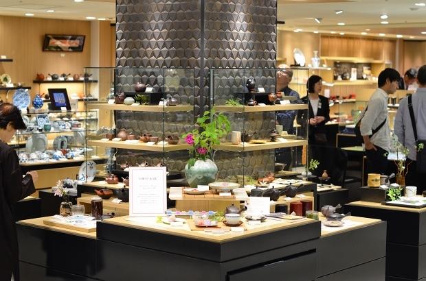 横浜高島屋「新茶と器~和菓子に合う器展~」_d0025294_16313408.jpg