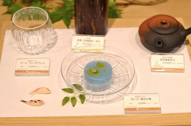 横浜高島屋「新茶と器~和菓子に合う器展~」_d0025294_16315253.jpg