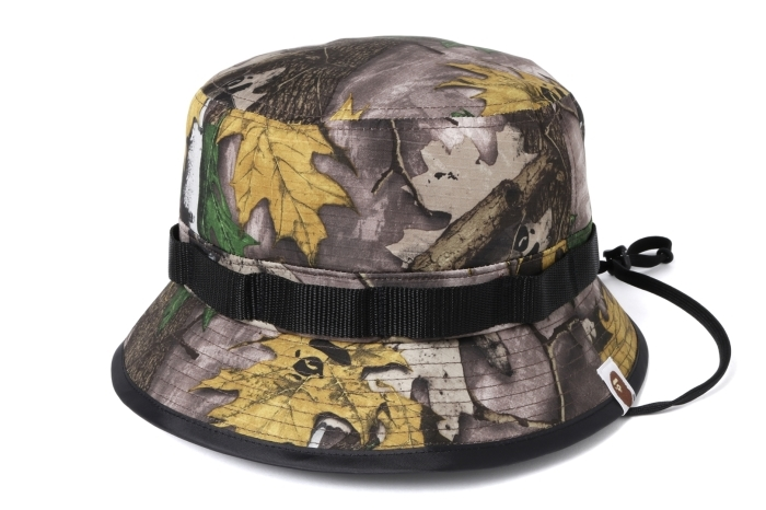 BAPE FOREST CAMO HUNTING HAT_a0174495_12032599.jpg