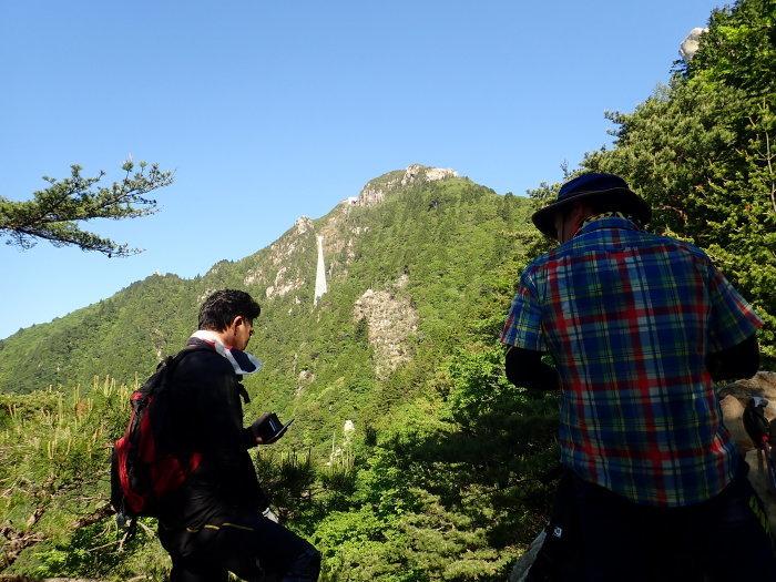御在所岳 中道登山。_a0049296_10344740.jpg
