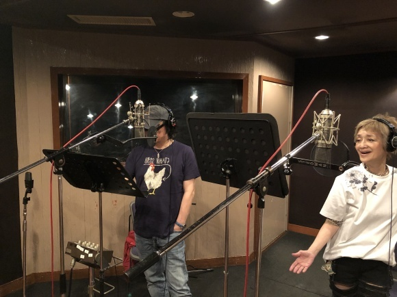 Recordingスタート!!!_a0088007_23552663.jpg