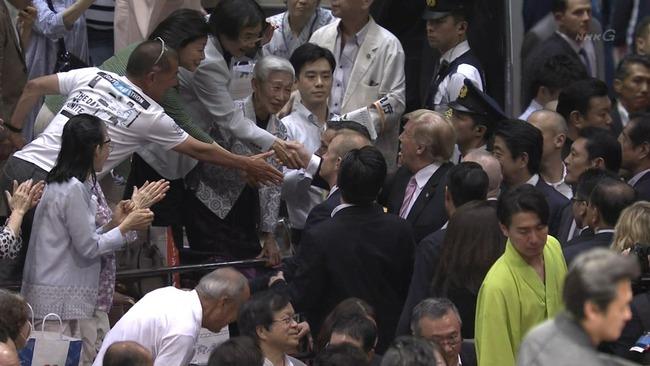トランプ米大統領初来日「日本の宗主国を満喫!?」:大統領も様々!?ブラジル大統領は反日だった!?_a0348309_926236.jpg