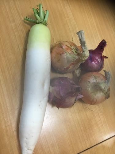野菜とお菓子いただきました!_f0206213_18581156.jpeg