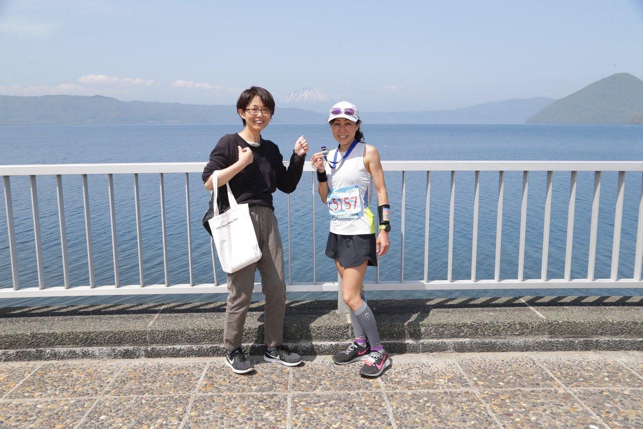 北海道 洞爺湖マラソン でSUB3.5_c0141025_14041169.jpeg