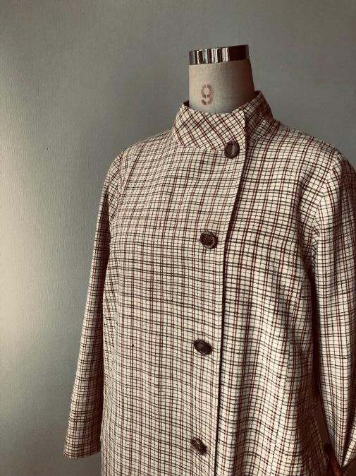 着物リメイク・木綿のお着物からレトロコートワンピ_d0127925_21433274.jpg