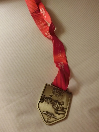 夜もロンドンマラソン祝勝会_e0303431_15455403.jpg