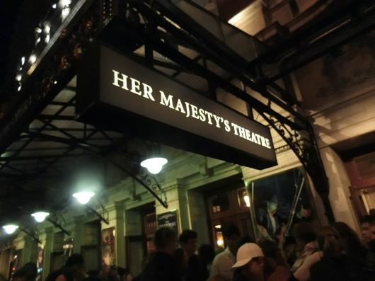 【オペラ座の怪人】~ロンドン ハー マジェスティーズ シアター~_e0303431_18291712.jpg