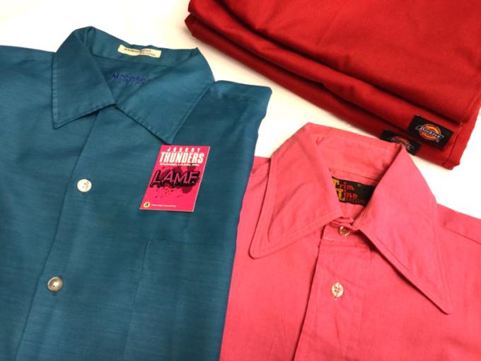 「 ロッキンNEW WAVEなシャツ 」_c0078333_17491916.jpg