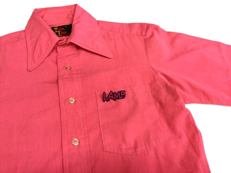 「 ロッキンNEW WAVEなシャツ 」_c0078333_18040895.jpg